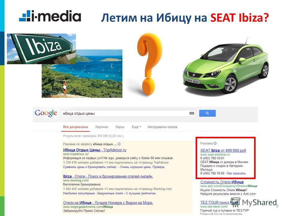 / 9 Летим на Ибицу на SEAT Ibiza?