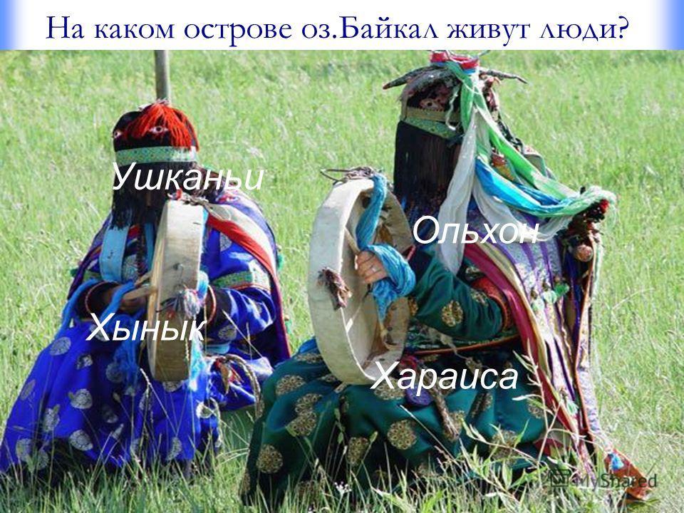 На каком острове оз.Байкал живут люди? Ушканьи Ольхон Хынык Хараиса