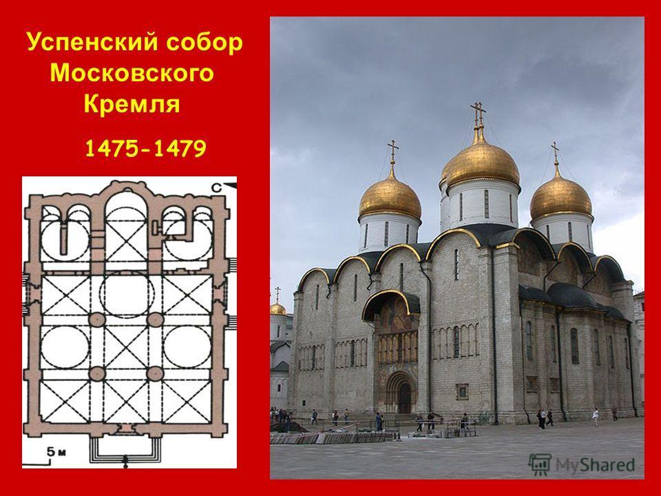 Успенский собор Московского Кремля 1475-1479