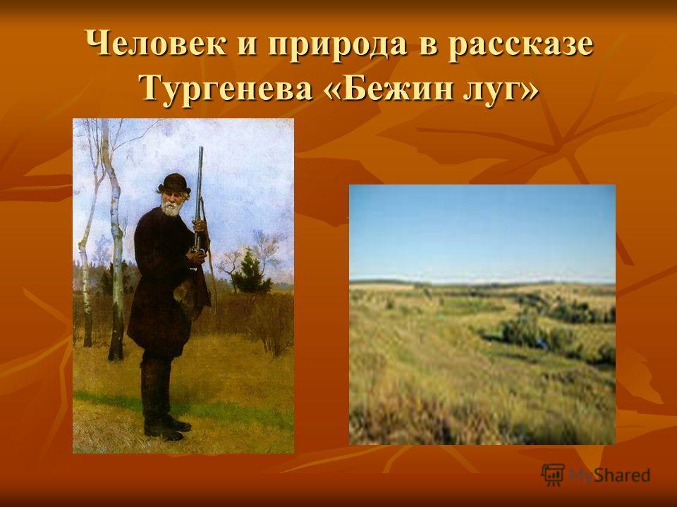 Человек и природа в рассказе Тургенева «Бежин луг»