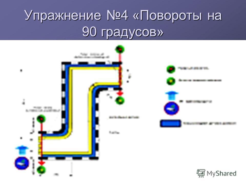 Упражнение 3 «Проезд пешеходного перехода» Упражнение 3 «Проезд пешеходного перехода»