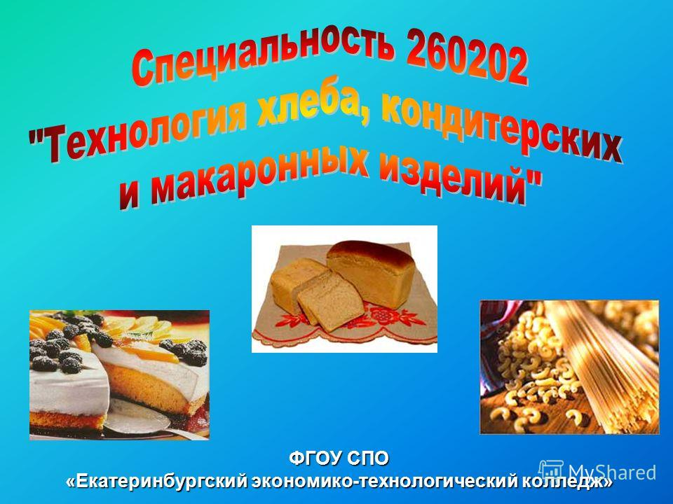 ФГОУ СПО «Екатеринбургский экономико-технологический колледж»