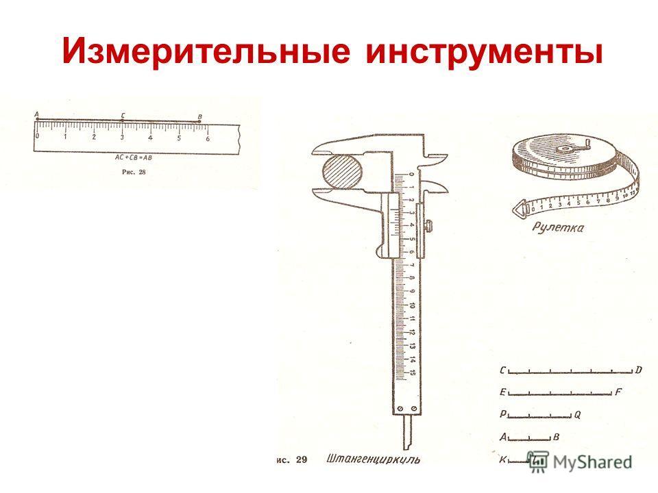 Пожванова Г.А. Измерительные инструменты