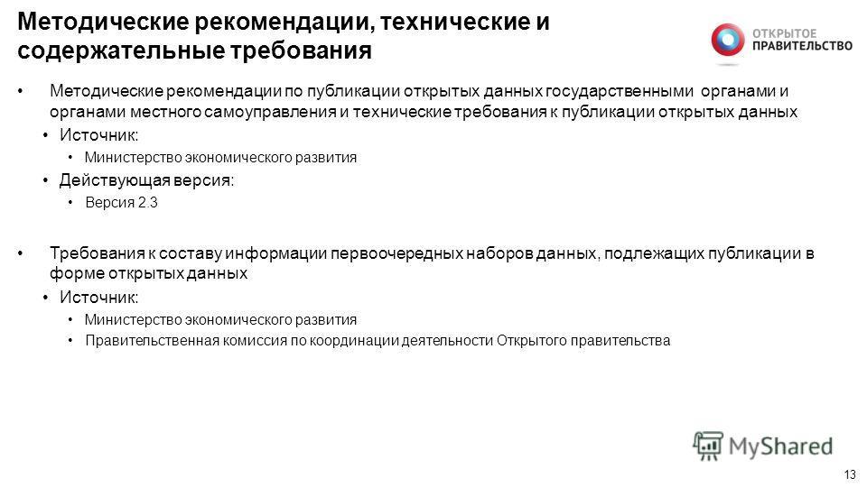 12 Иные нормативные правовые акты Приказ Министерства связи и массовых коммуникаций Российской Федерации от 27 июня 2013 года 149 «Об утверждении Требований к технологическим, программным и лингвистическим средствам, необходимым для размещения информ
