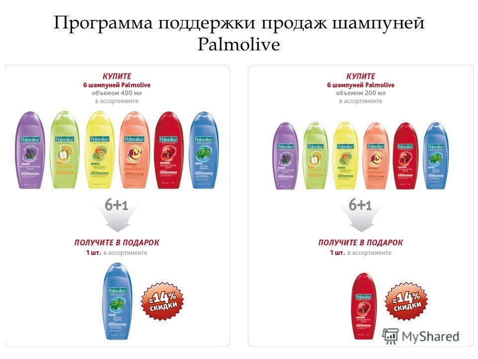 Программа поддержки продаж шампуней Palmolive