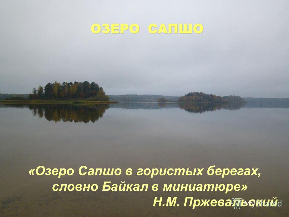 Озеро имеет древнее название, сохранившееся с языческих времен. Это самое большое озеро в национальном парке, площадь 304 га. Самая глубокая отметка 18,6 м. Озеро относится к бассейну реки Западная Двина. Проточное. Вытекает река Сапшанка, в половодь