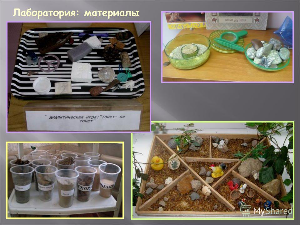 Лаборатория: материалы
