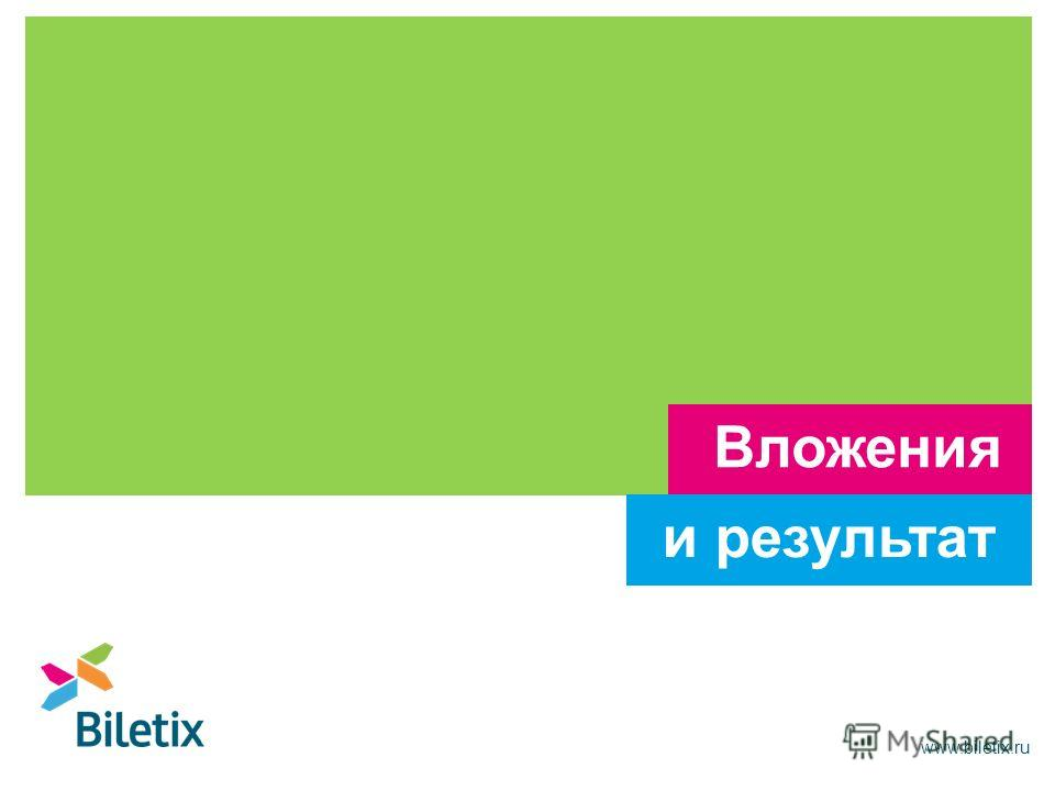 www.biletix.ru Вложения и результат