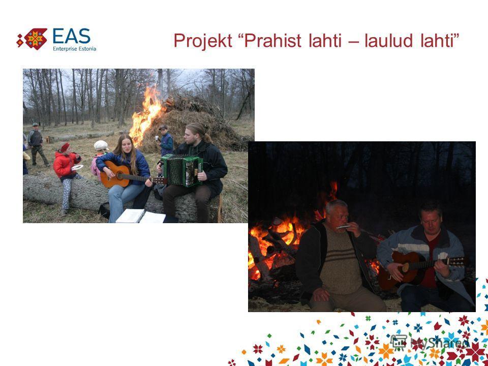 Projekt Prahist lahti – laulud lahti
