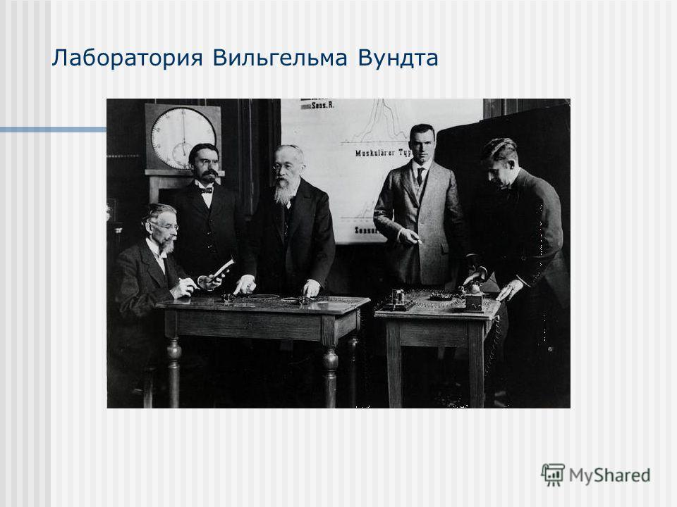 Лаборатория Вильгельма Вундта