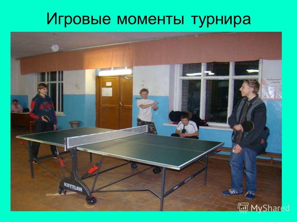 Игровые моменты турнира