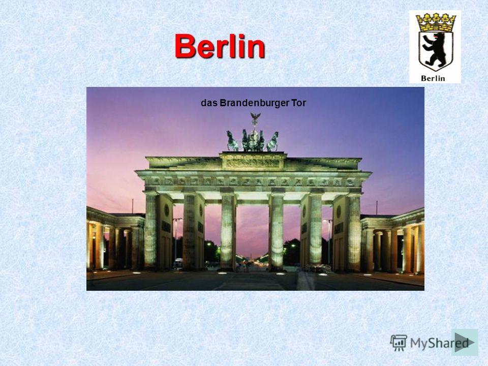 Berlin das Brandenburger Tor