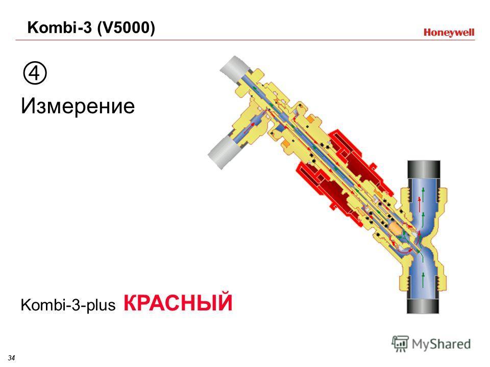 34 Измерение Kombi-3-plus КРАСНЫЙ Kombi-3 (V5000)