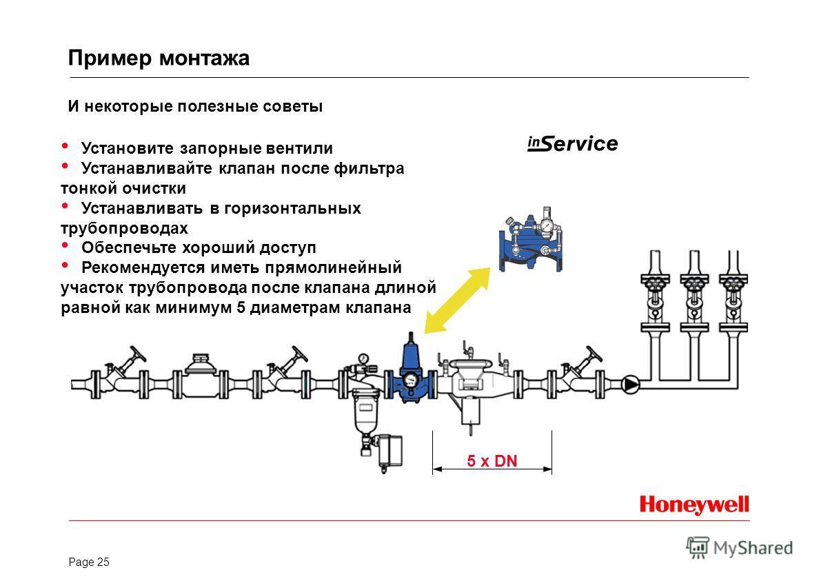 Page 24 D 17 D 17 N D 17 Стандарт Входное давление: 25,0 бар Выходное давление: 1,5 - 6,0/8,0 бар Температура: до 70 o C Низкое давление Входное давление: 25,0 бар Выходное давление: 0,5 - 2,0 бар Температура: до 70 o C Присоединительные размеры: DN4