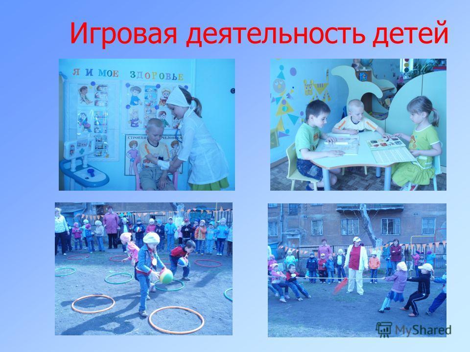 Игровая деятельность детей :