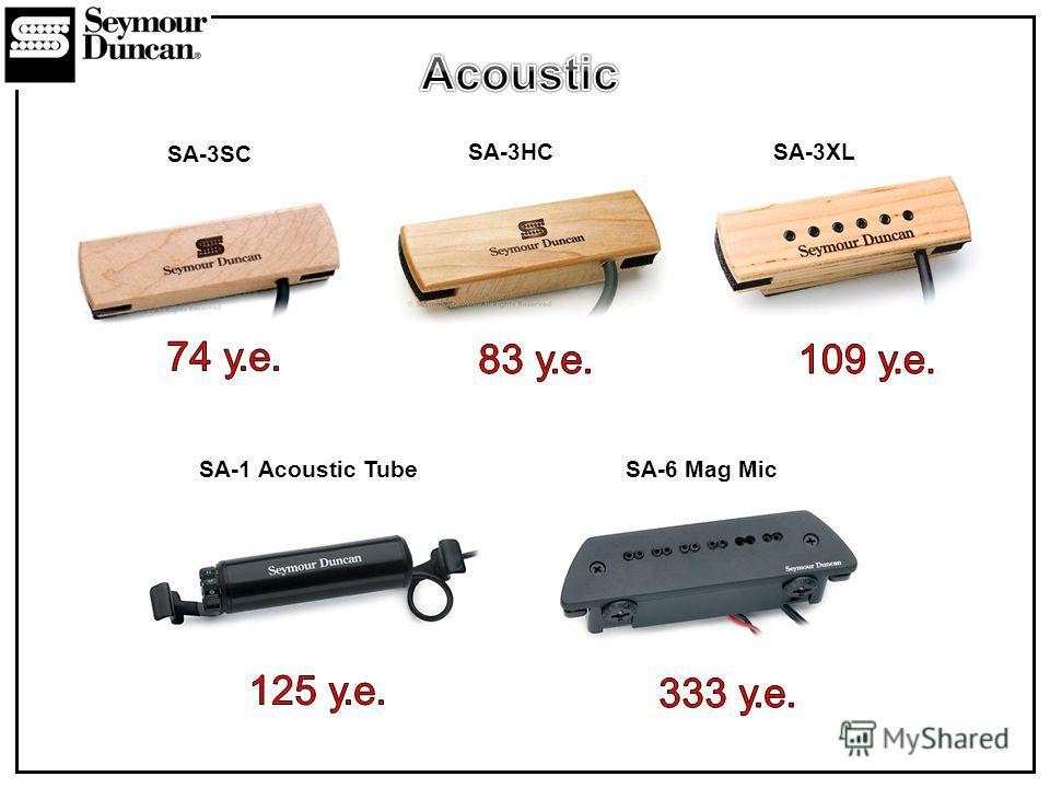 SA-6 Mag MicSA-1 Acoustic Tube SA-3XLSA-3HC SA-3SC