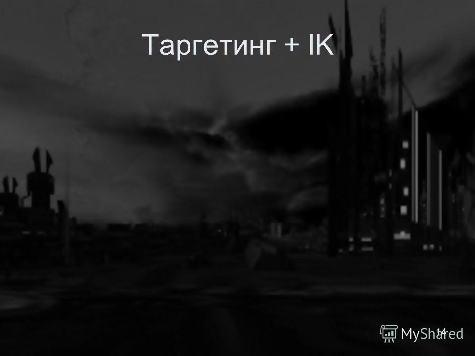 Таргетинг + IK 14