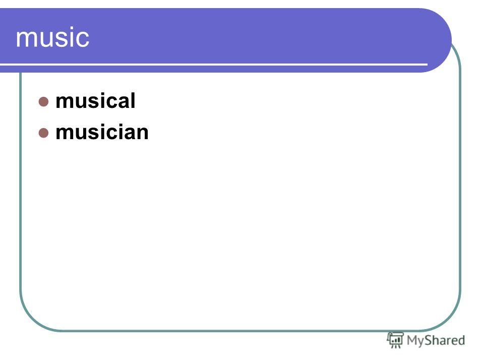 music musical musician