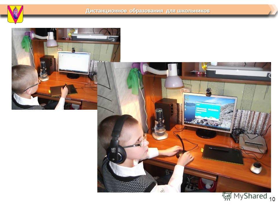Дистанционное образования для школьников Дистанционное образования для школьников 10