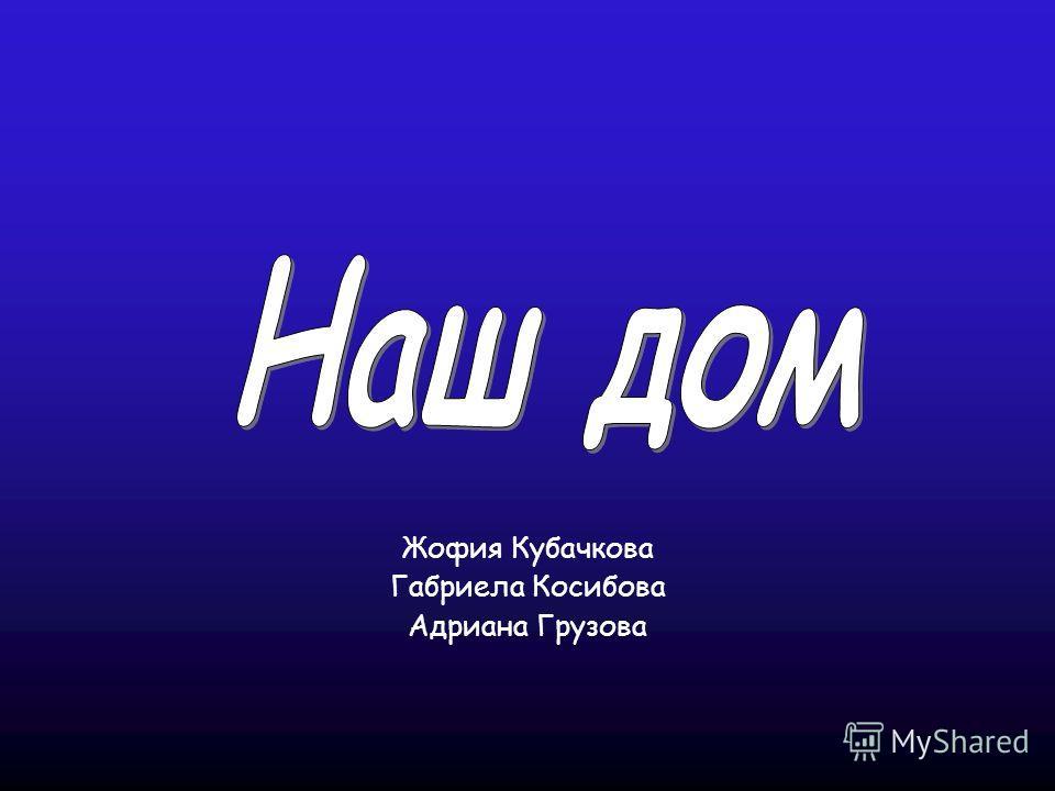 Жофия Кубачкова Габриела Косибова Адриана Грузова