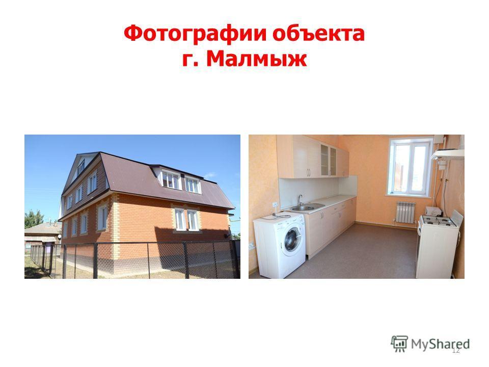 Фотографии объекта г. Малмыж 12