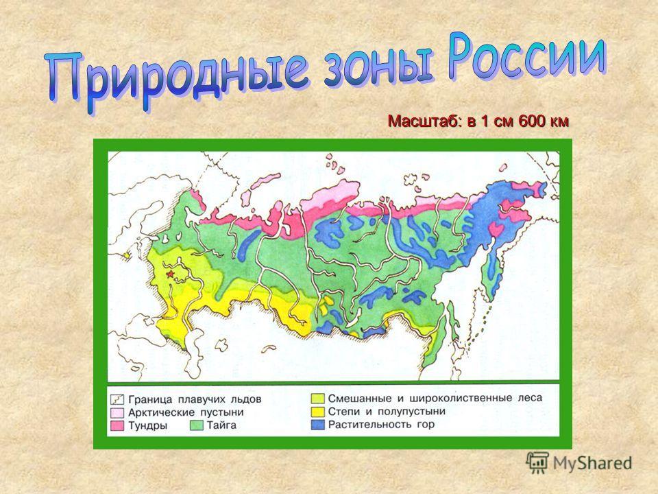 Масштаб: в 1 см 600 км