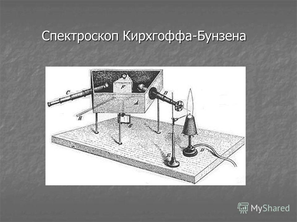 Спектроскоп Кирхгоффа-Бунзена