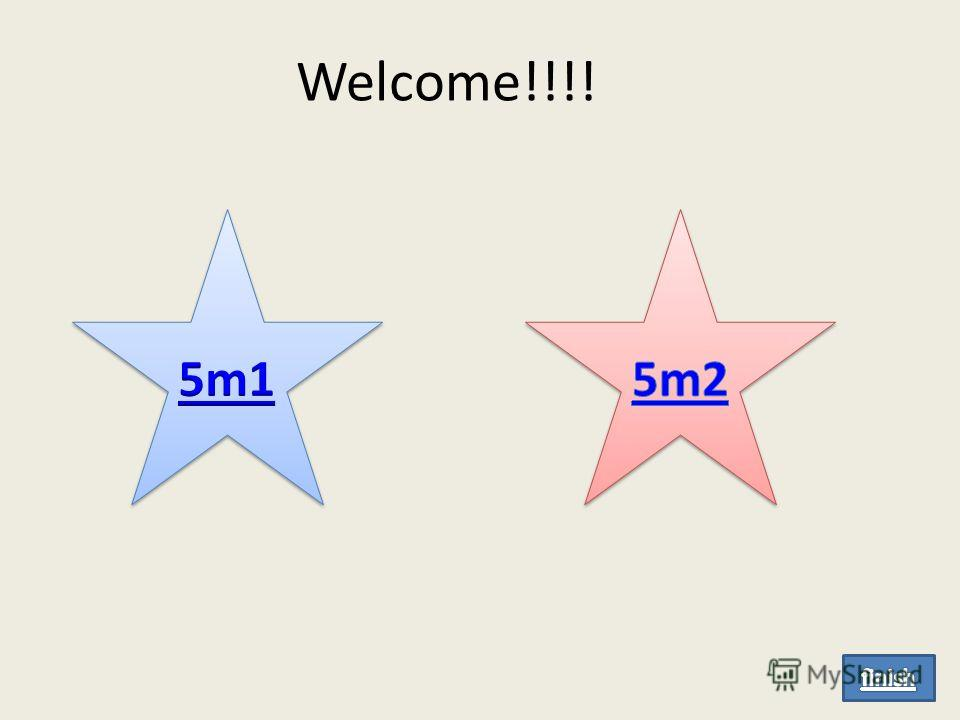 Welcome!!!!