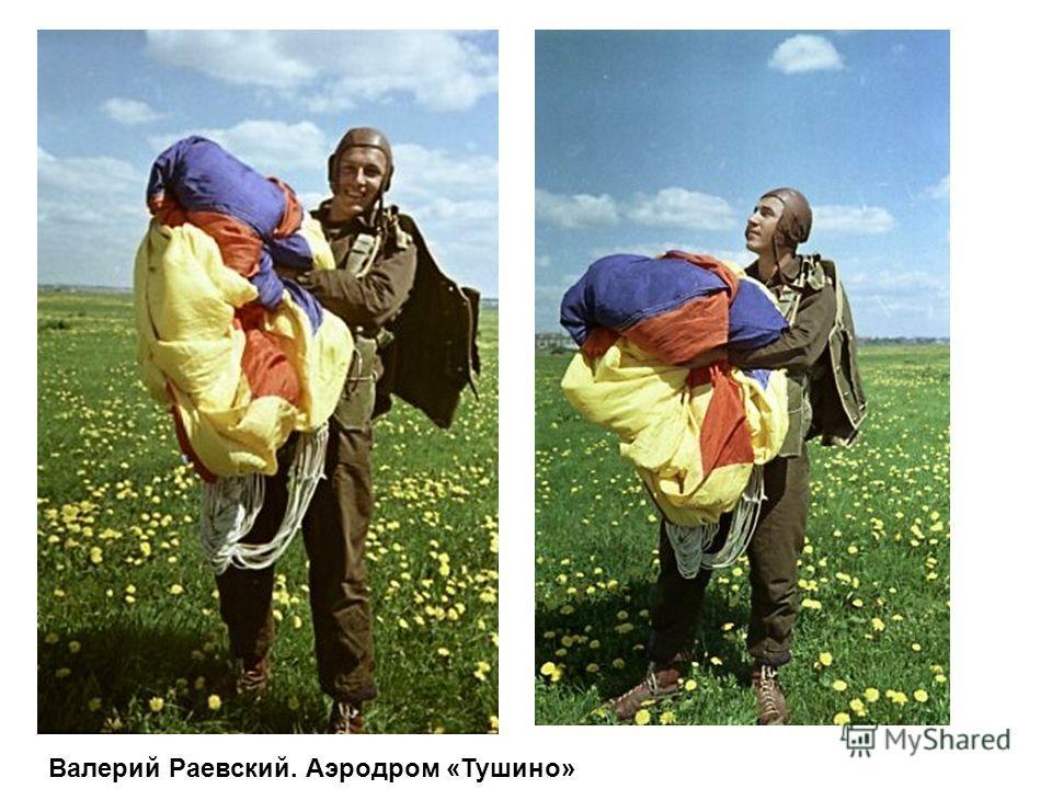 Валерий Раевский. Аэродром «Тушино»