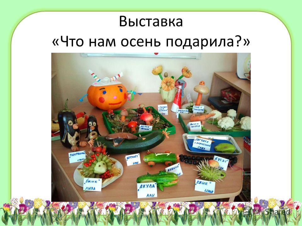 Выставка «Что нам осень подарила?»