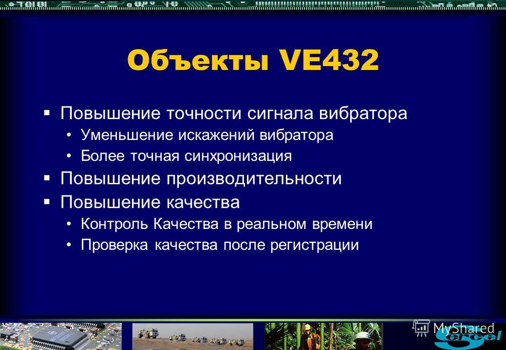 VE432 Цифровая система управления вибраторами Генератор цифровых сигналовЦифровой сервопривод