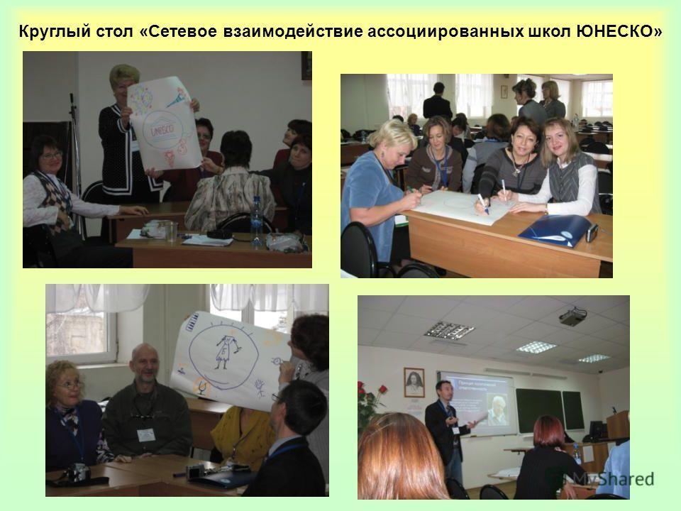 Круглый стол «Сетевое взаимодействие ассоциированных школ ЮНЕСКО»
