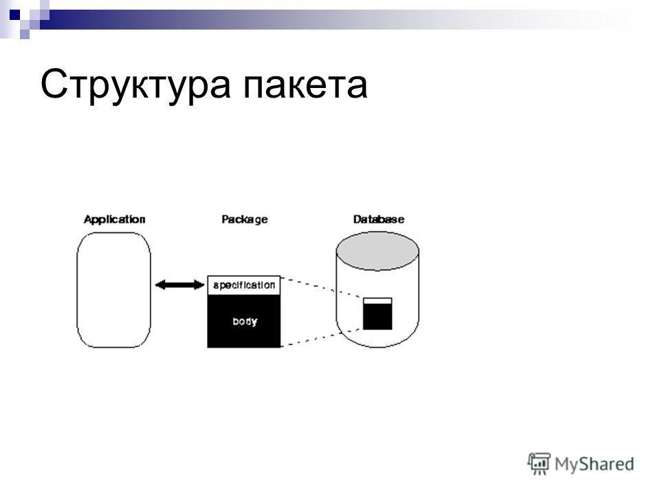 Структура пакета