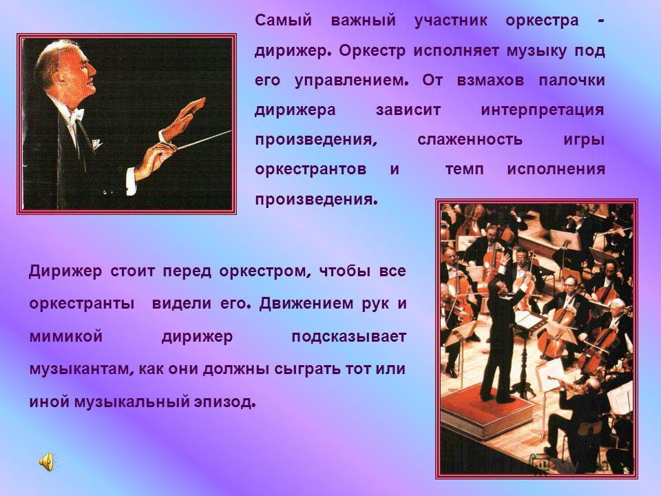 Схема симфонического оркестра