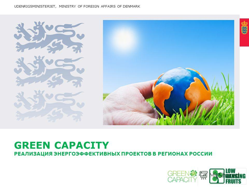 Title written in CAPITAL letters, broken into 2 lines, if it fits with the length of the words Optional: Cover this area with photo. Proportions are approx 2*1 (24,46 * 11,65 cm) Fixed text margin Minimum clear margin for text GREEN CAPACITY РЕАЛИЗАЦ