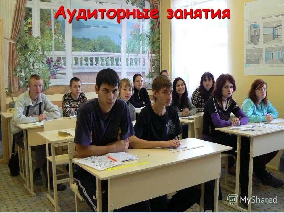 Аудиторные занятия