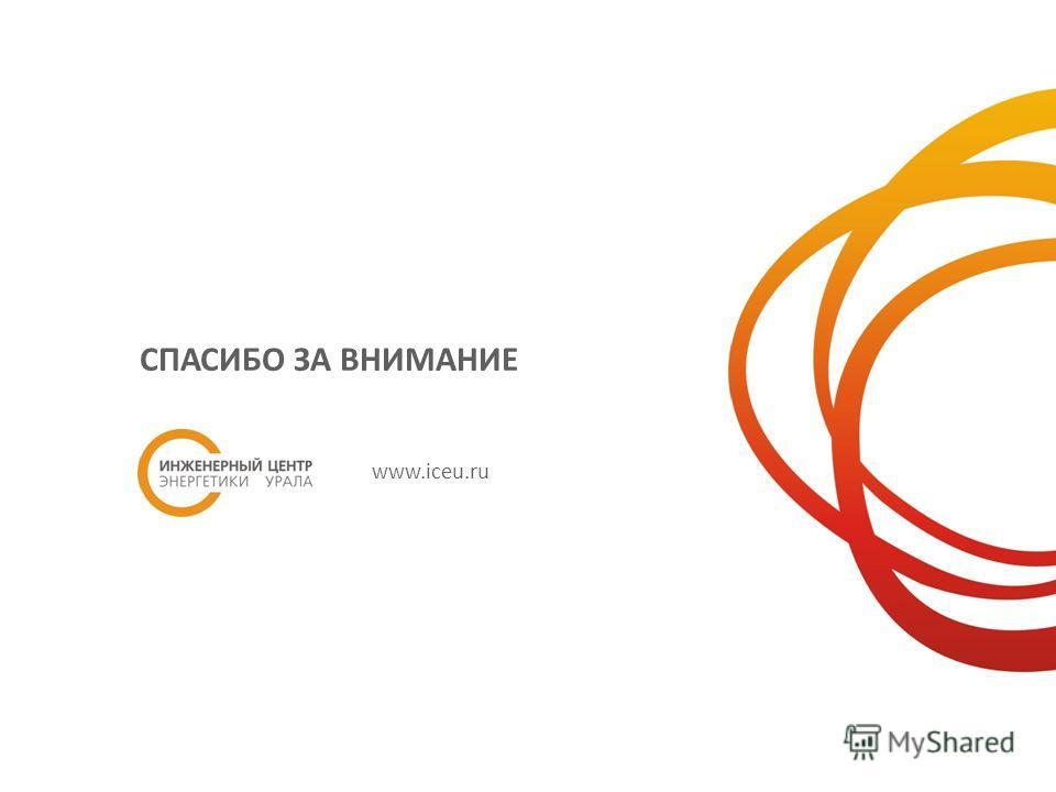 СПАСИБО ЗА ВНИМАНИЕ www.iceu.ru