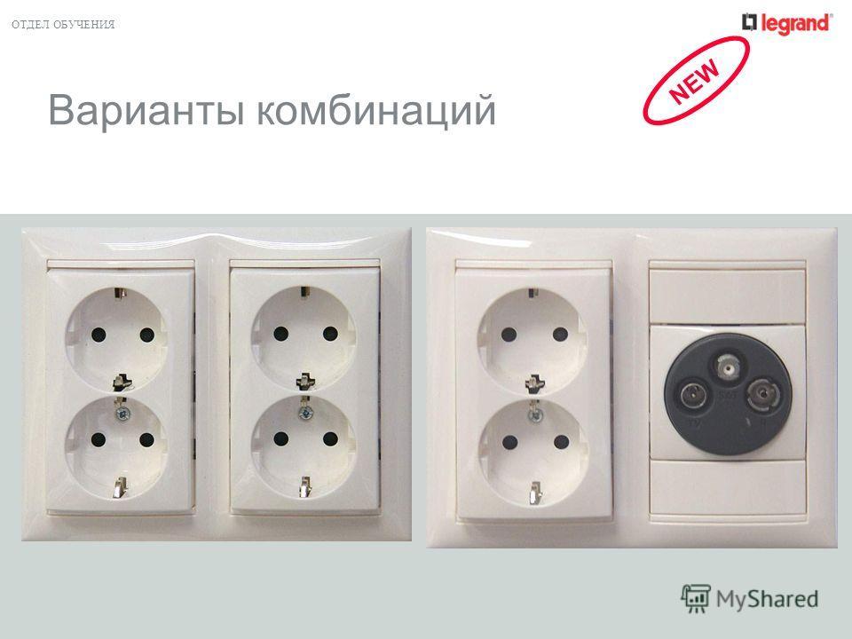 ОТДЕЛ ОБУЧЕНИЯ Варианты комбинаций NEW