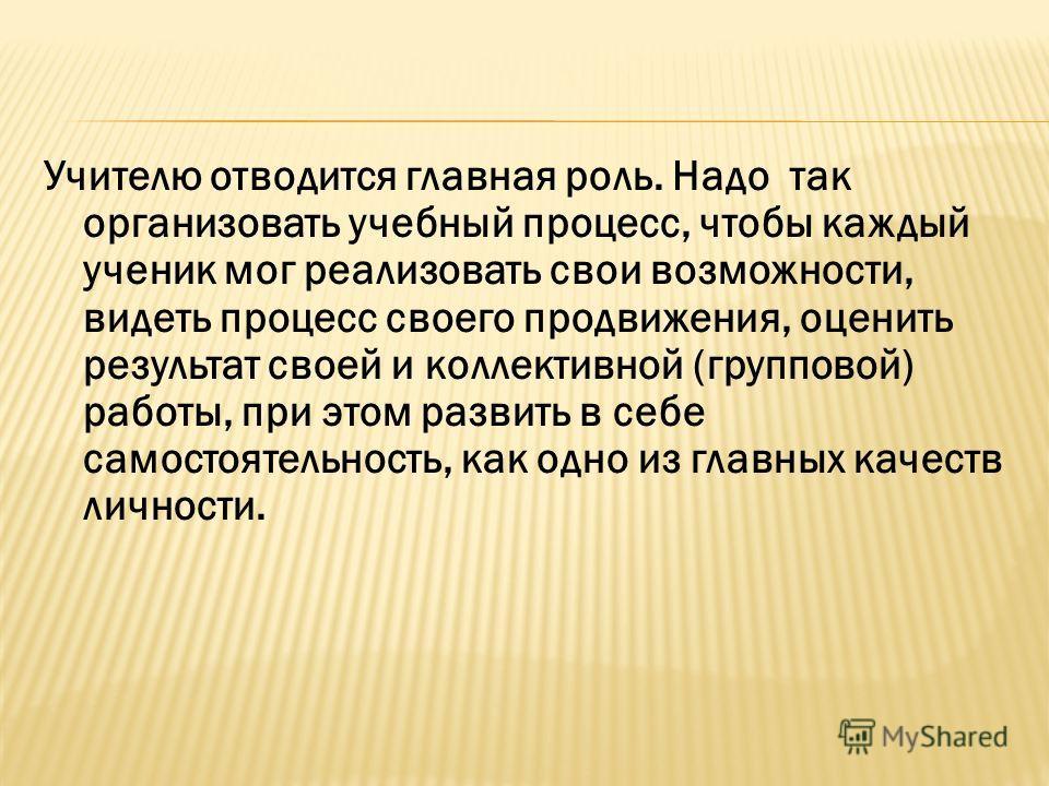 Презентация О Самостоятельности Младших Школьников