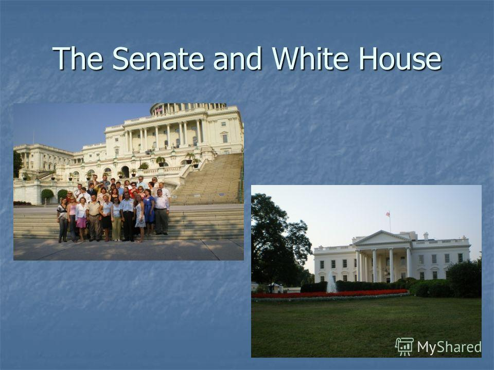 The Senate and White House