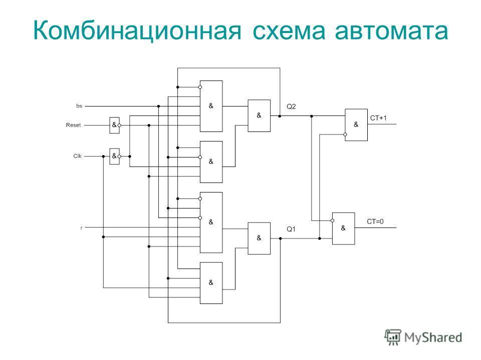 Комбинационная схема автомата