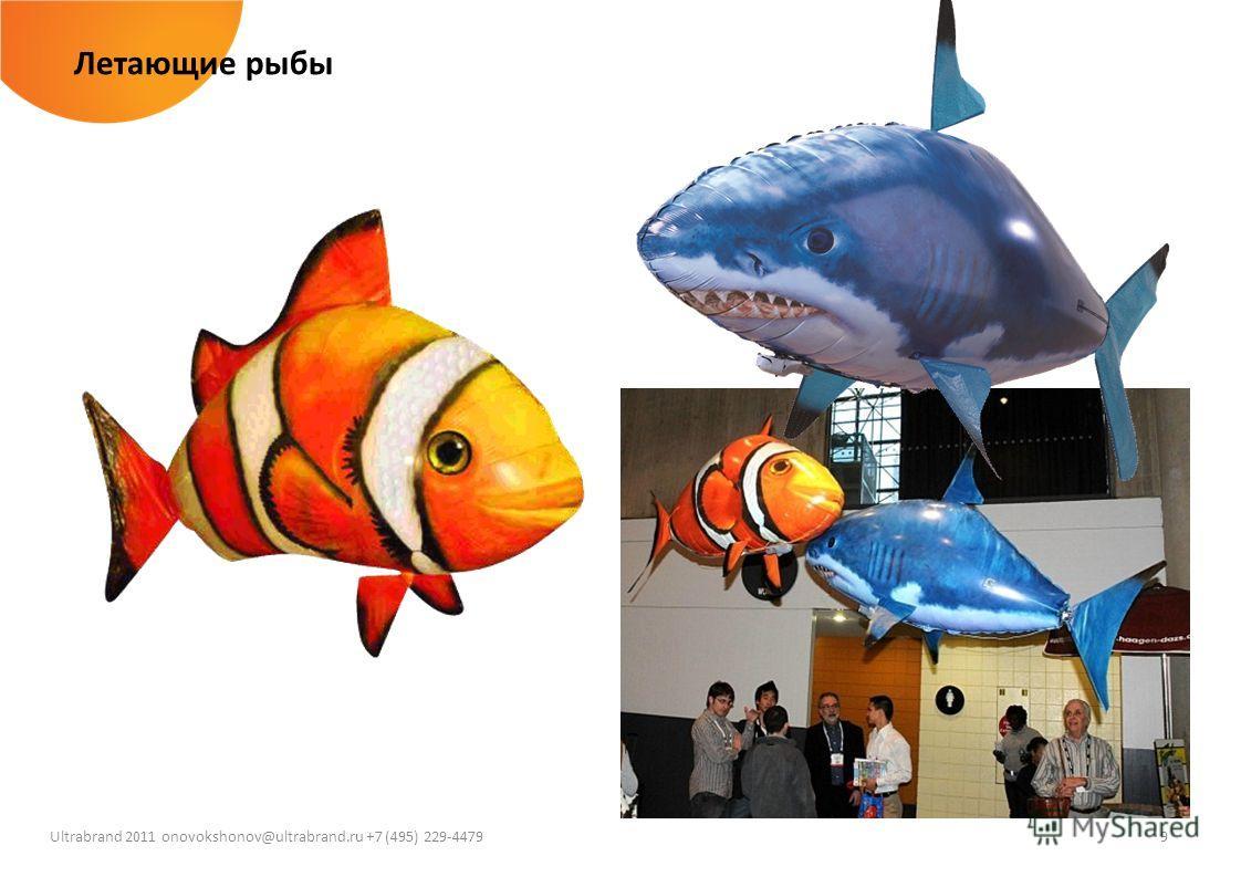 9 Ultrabrand 2011 onovokshonov@ultrabrand.ru +7 (495) 229-4479 Летающие рыбы