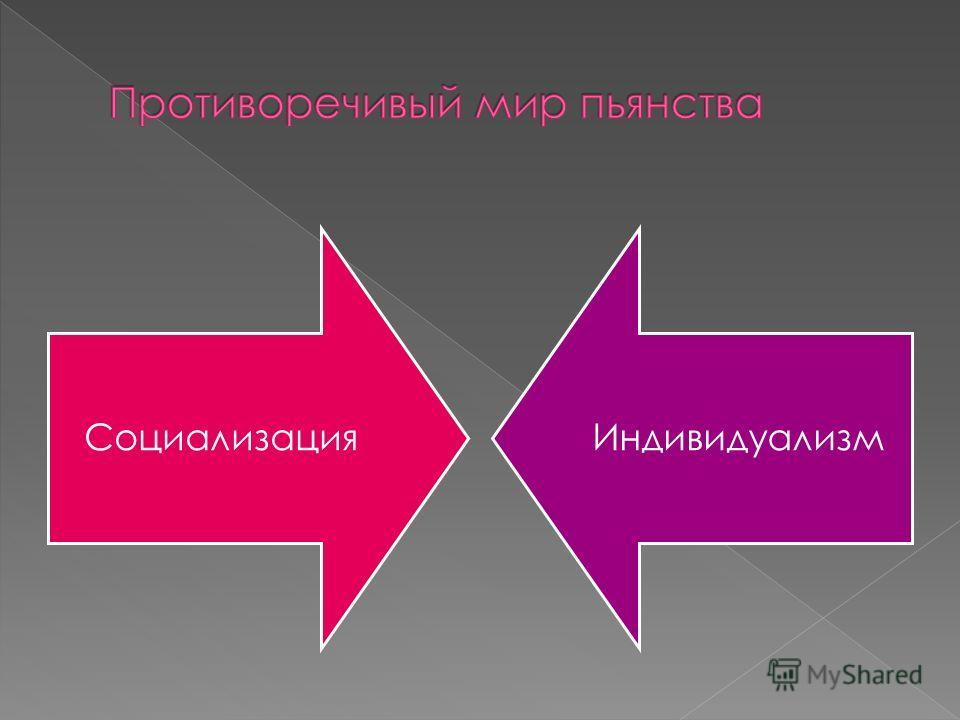 СоциализацияИндивидуализм