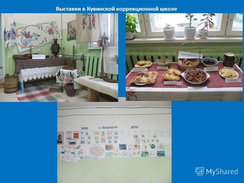 Выставки в Кувинской коррекционной школе
