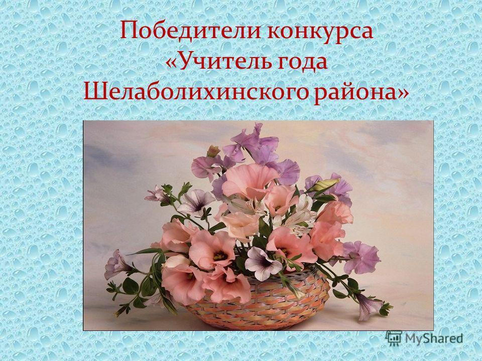 Победители конкурса «Учитель года Шелаболихинского района»