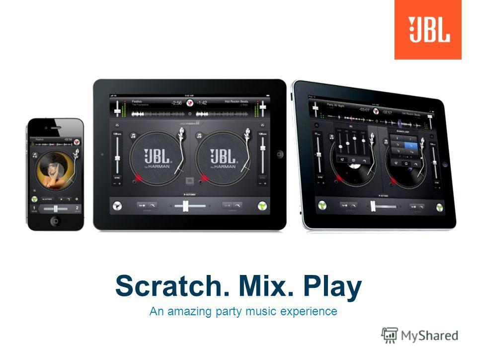 Для музыки, фильмов и игр Видео выход Беспроводной микшер для музыки с DJ приложением #1 Высокое качество звука для больших помещений Беспроводное соединение Bluetooth Настройка эквалайзера Регулируемый док для DJ-приложения Для iPad и iPhone Поддерж