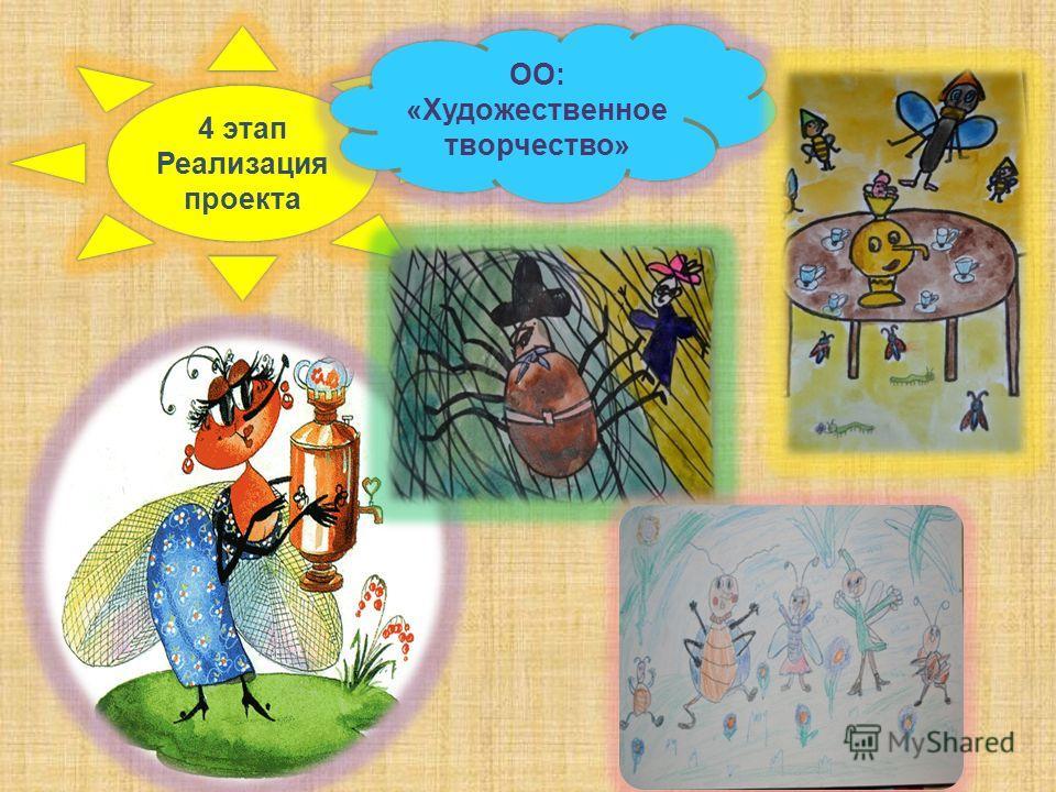 4 этап Реализация проекта ОО: «Художественное творчество»