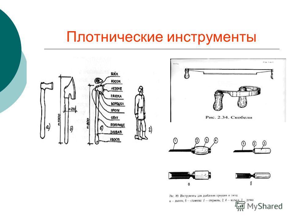 Плотнические инструменты