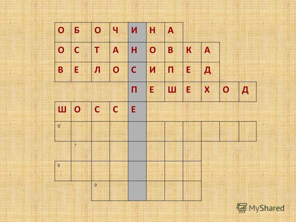 ОБОЧИНА ОСТАНОВКА ВЕЛОСИПЕД ПЕШЕХОД ШОССЕ 6 7 8 9