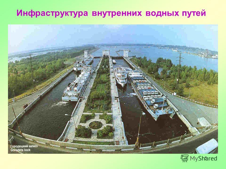 5 Инфраструктура внутренних водных путей